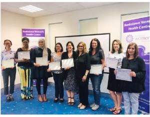 BWHC Board Members receiving awards